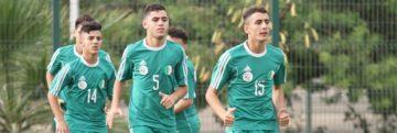Tournoi de l'UNAF U19 : la sélection algérienne à pied d'œuvre à Tunis