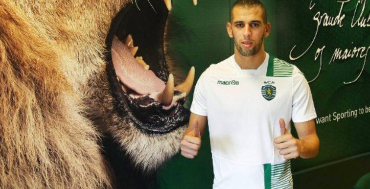 Mercato : le Sporting rêve d'un retour de Slimani