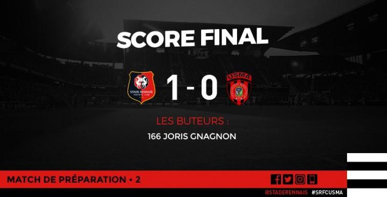Amical : le Stade Rennais s'impose 1-0 face à l'USMA