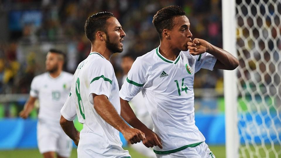 Algérie 1-2 Argentine JO 2016 bendebka belkebla but 2820464_big-lnd