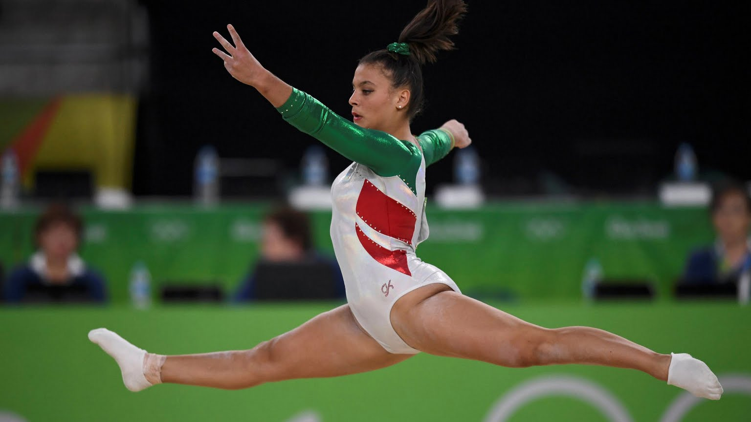 Farah Boufaden gymnastique