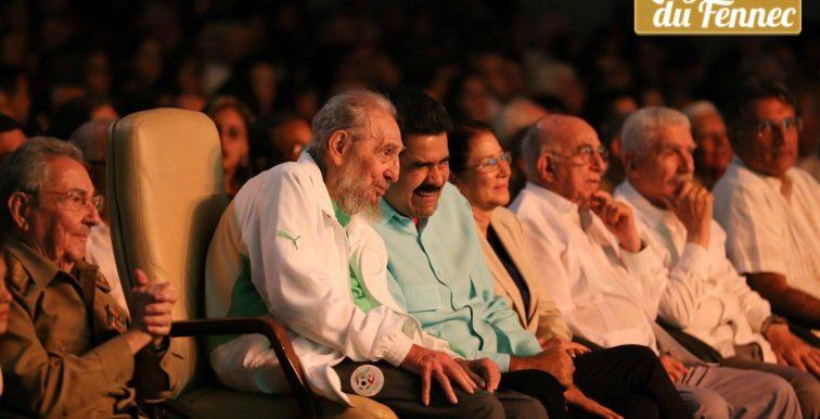 Fidel Castro en mode supporter de l'EN pour son anniversaire !
