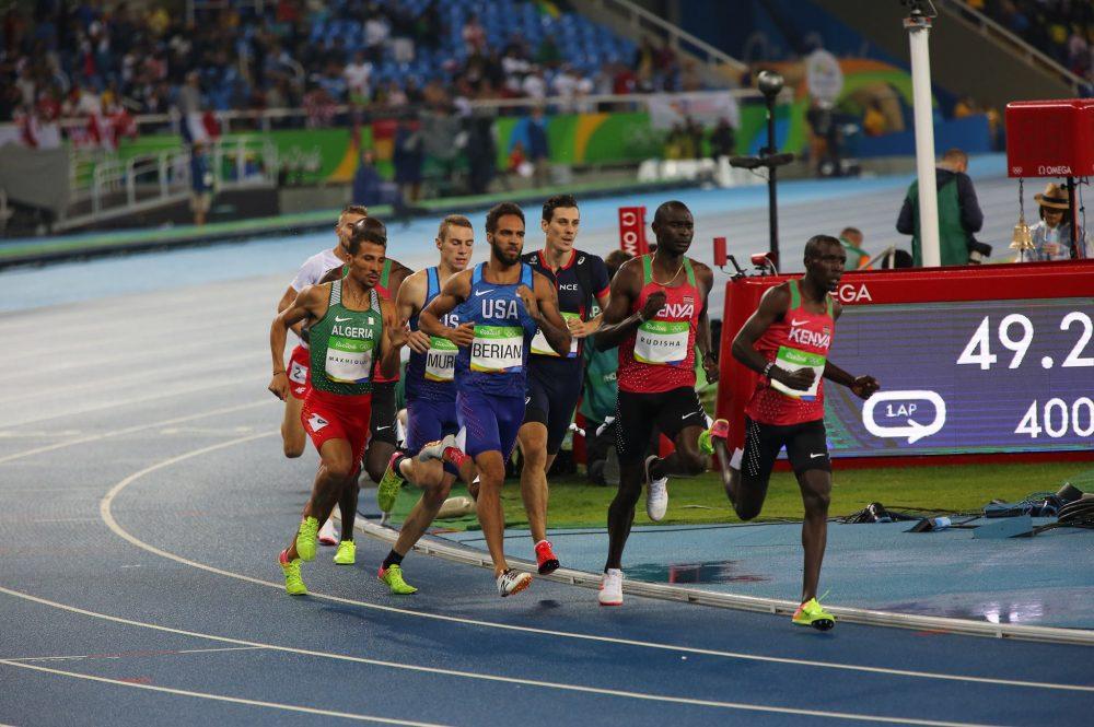 ?Revivez la finale du 800m avec la médaille d'argent de Makhloufi !
