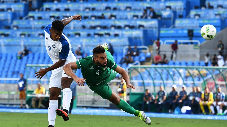 Honduras 3-2 Algerie JO 2016 15 demmou