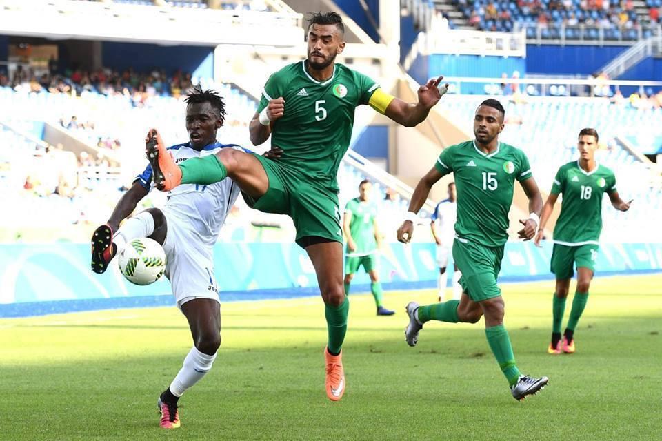 Honduras 3-2 Algerie JO 2016 Kenniche 88