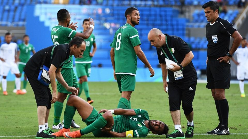 Honduras 3-2 Algerie JO 2016 kenniche belkebla 22