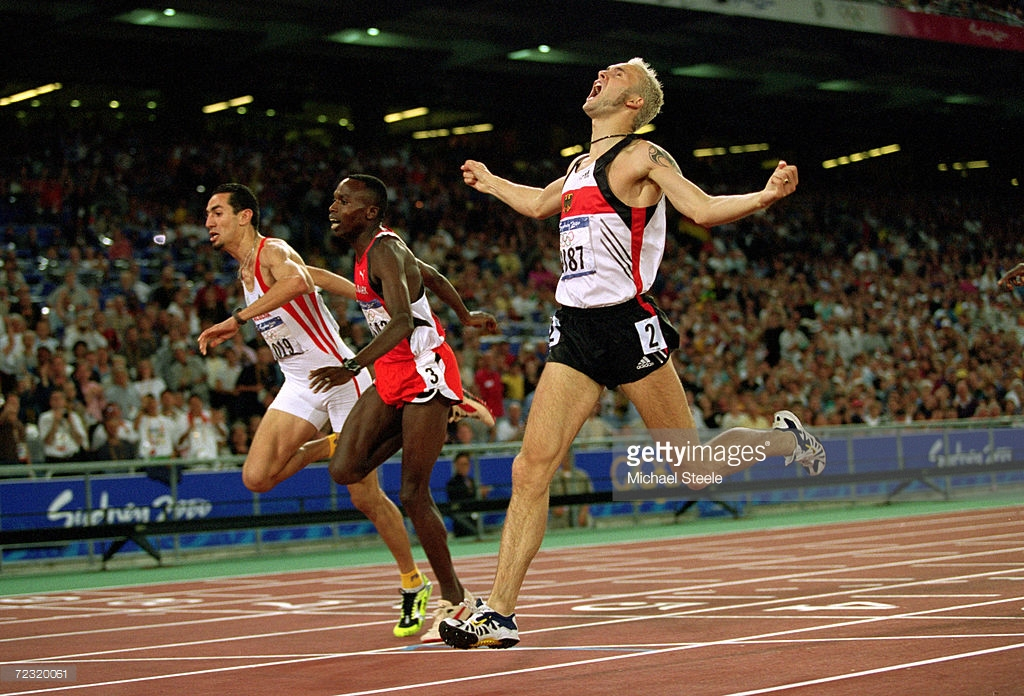 Said Guerni finish Sydney 2000