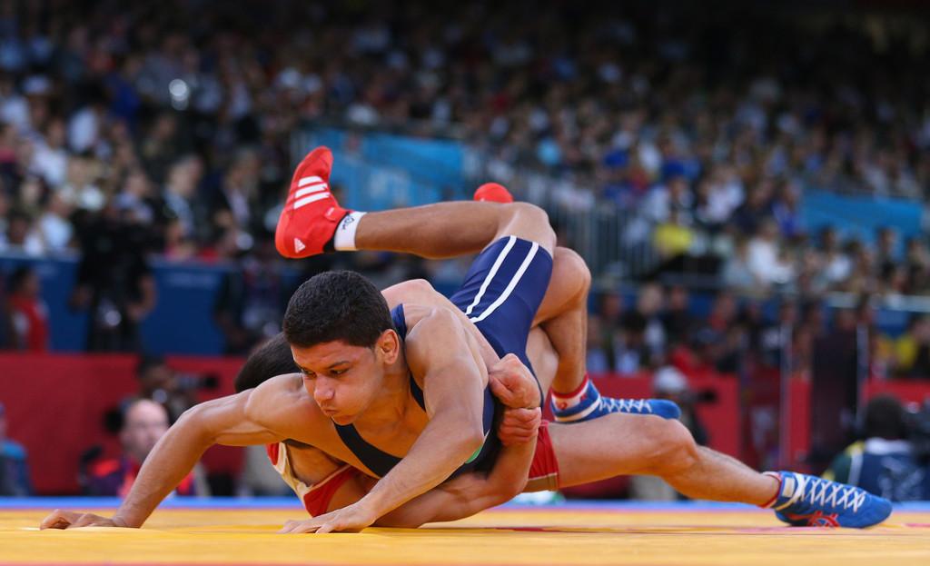 Tarek+Aziz+Benaissa+Olympics+Day+10+Wrestling+KJML9wYlGe7x