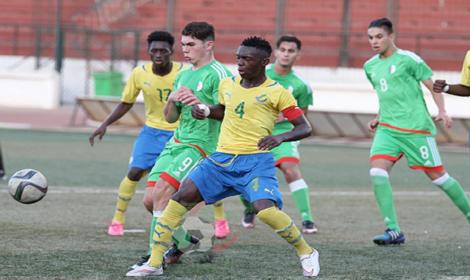 U17 algerie gabon duel