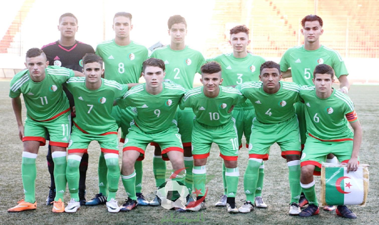 U17 algerie gabon onze type
