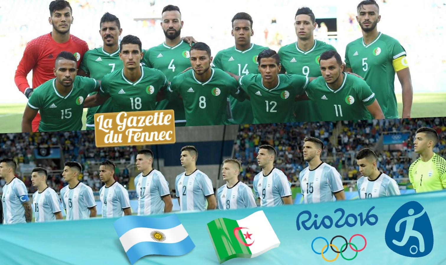 algerie argentine JO 2016