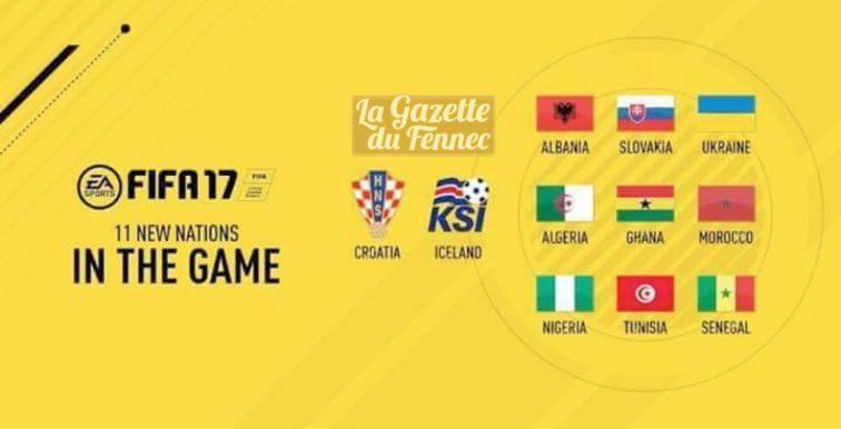 FIFA 17 : l'Algérie serait officiellement dans le jeu !