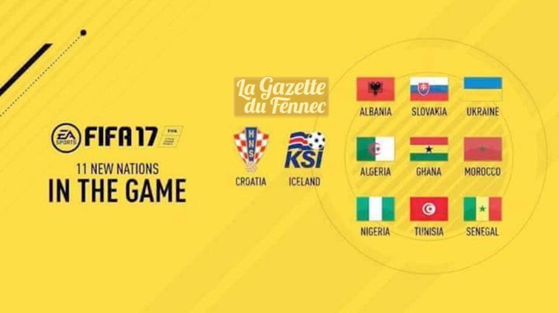 algerie dans FIFA 17