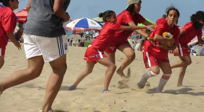 Beach Rugby : initiations sur les plages à Oran !
