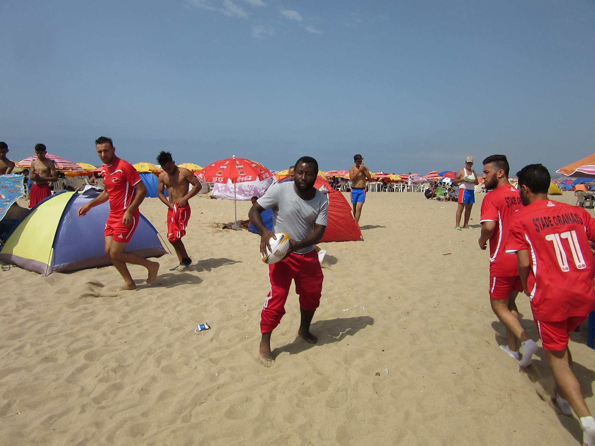 beach rugby kamgia coach