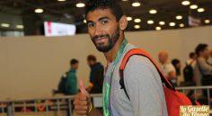 JO : accueil spécial pour Bourrada à l'aéroport d'Alger