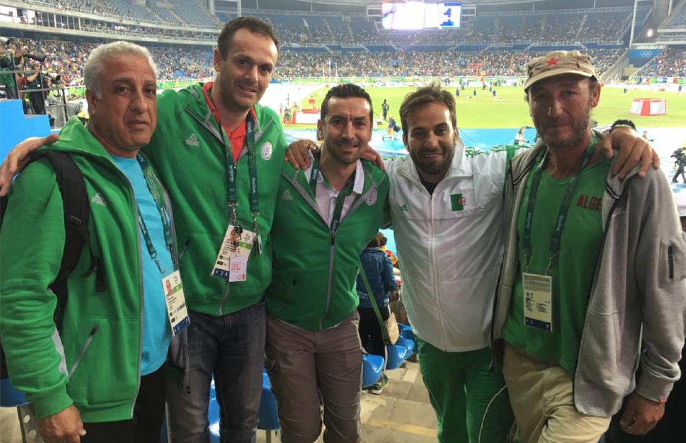 delegation athlétisme boubrit coachs