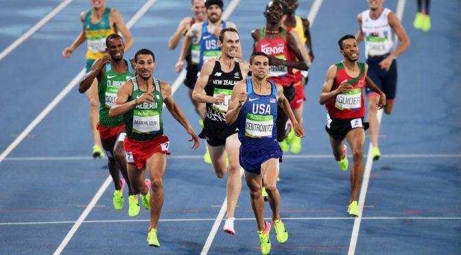 JO : Makhloufi remporte l'Argent sur le 1500m à Rio !