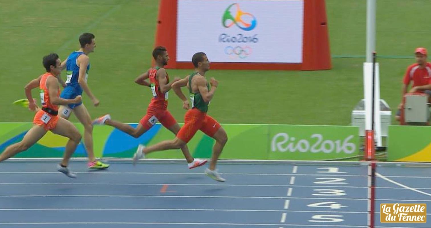 finish makhloufi Rio 800m