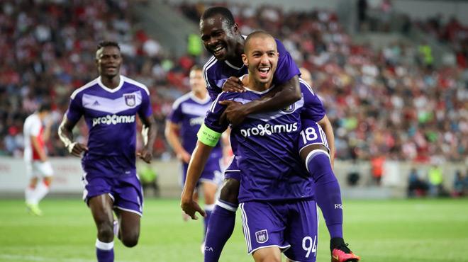 Europa League: Anderlecht s'impose contre Prague avec un bijou de Hanni!