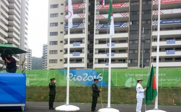 JO 2016 : le drapeau algérien flotte à Rio de Janeiro !