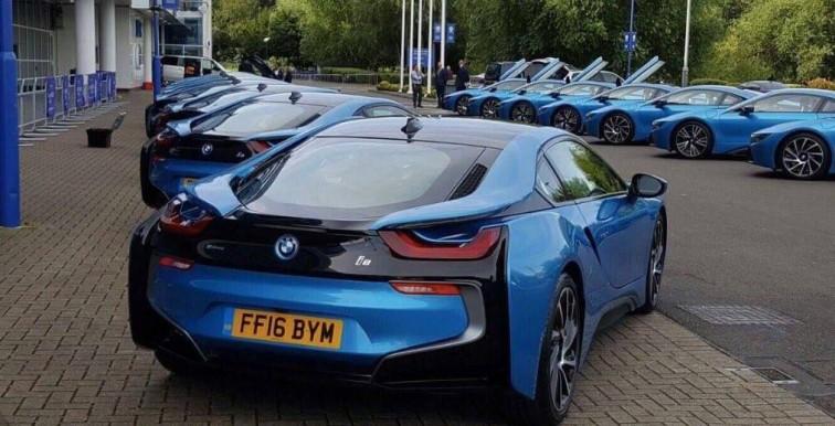 Leicester : une BMW i8 en cadeau pour les joueurs !