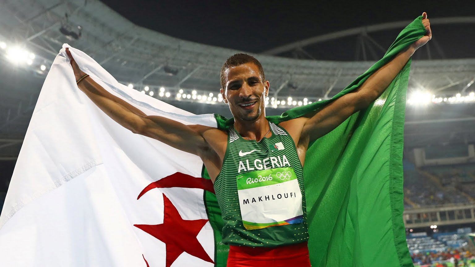 makhloufi argent JO 2016 Rio