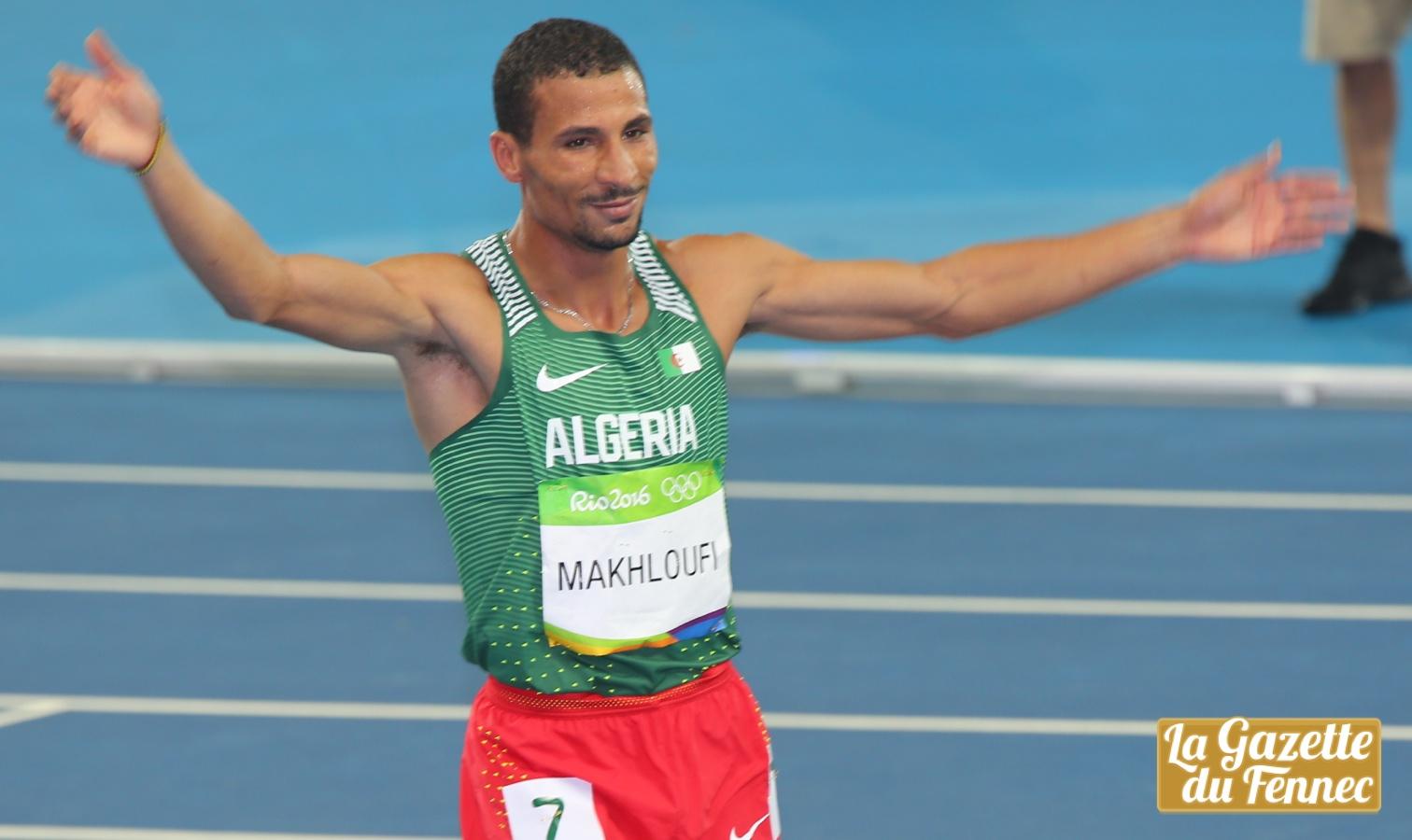 makhloufi desole Rio 1500m