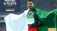 Meeting de Paris St-Denis : Taoufik Makhloufi en piste sur le 800m !