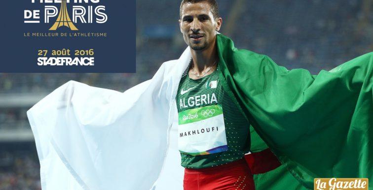 Diamond League (Saint-Denis): Makhloufi termine 2ème !
