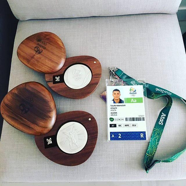 médaille argent Makhloufi