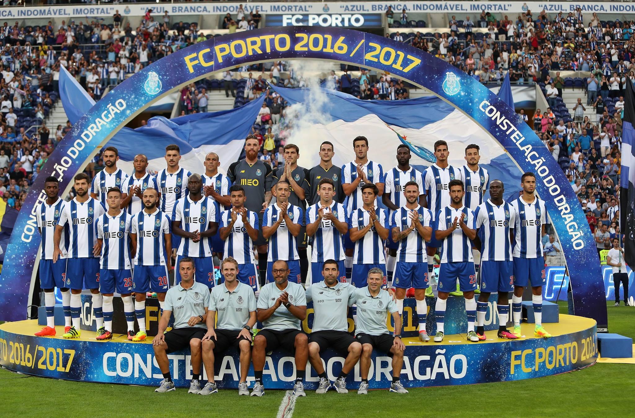 présentation effectif FC Porto 2017