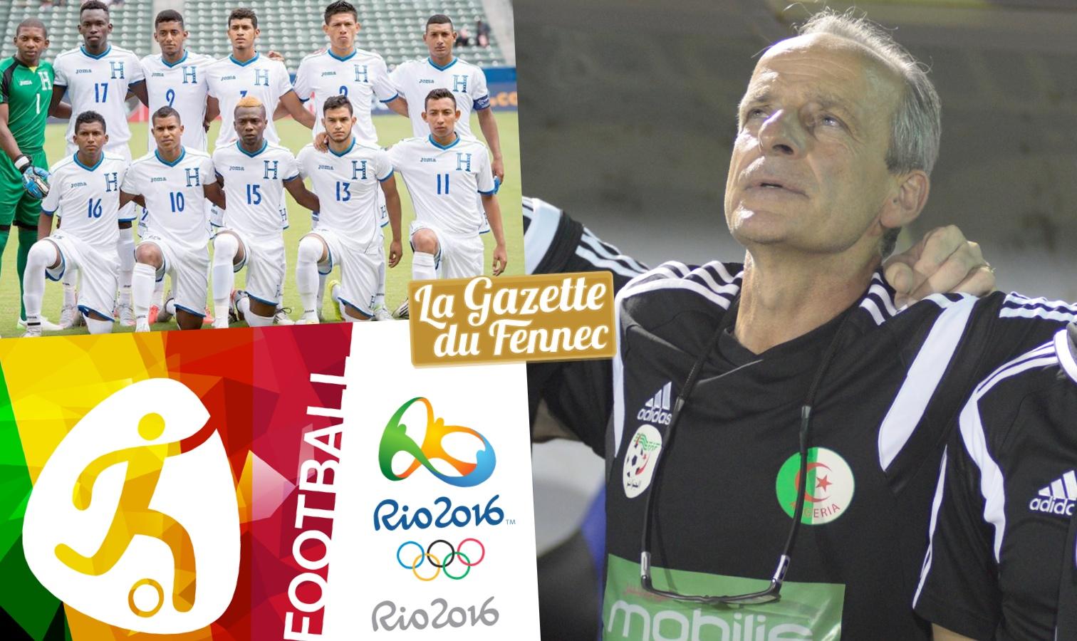 Jeux olympiques de Rio : L'Algérie perd son premier match face au Honduras