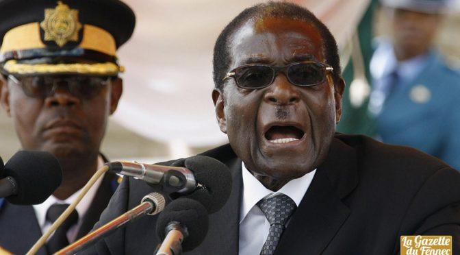 Zimbabwe : le Président Mugabe envoi la délégation complète en prison !