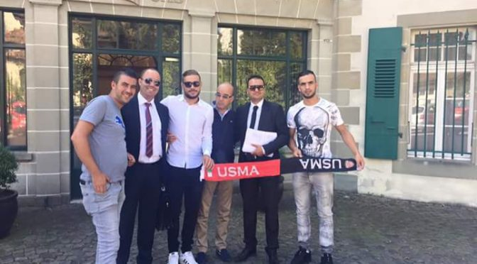 Discipline : Belaïli en Suisse pour défendre son cas