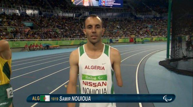 Paralympiques: Samir Nouioua offre à l'Algérie sa 3e médaille d'or !