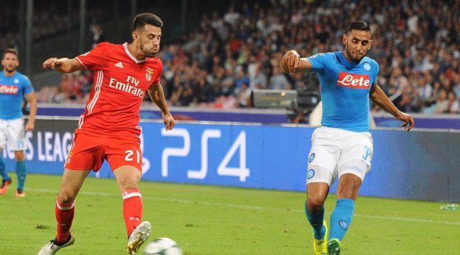 LDC: Naples cartonne le Benfica avec un Ghoulam passeur!