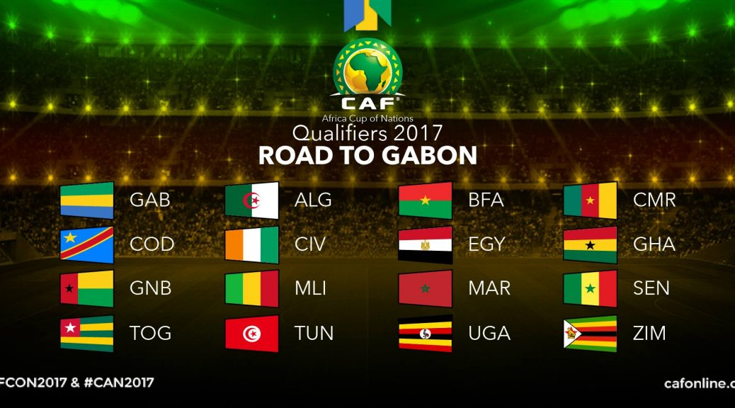 16 qualifiés pour la CAN 2017