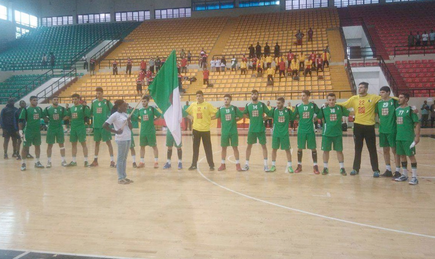 CAN U21 handball algerie
