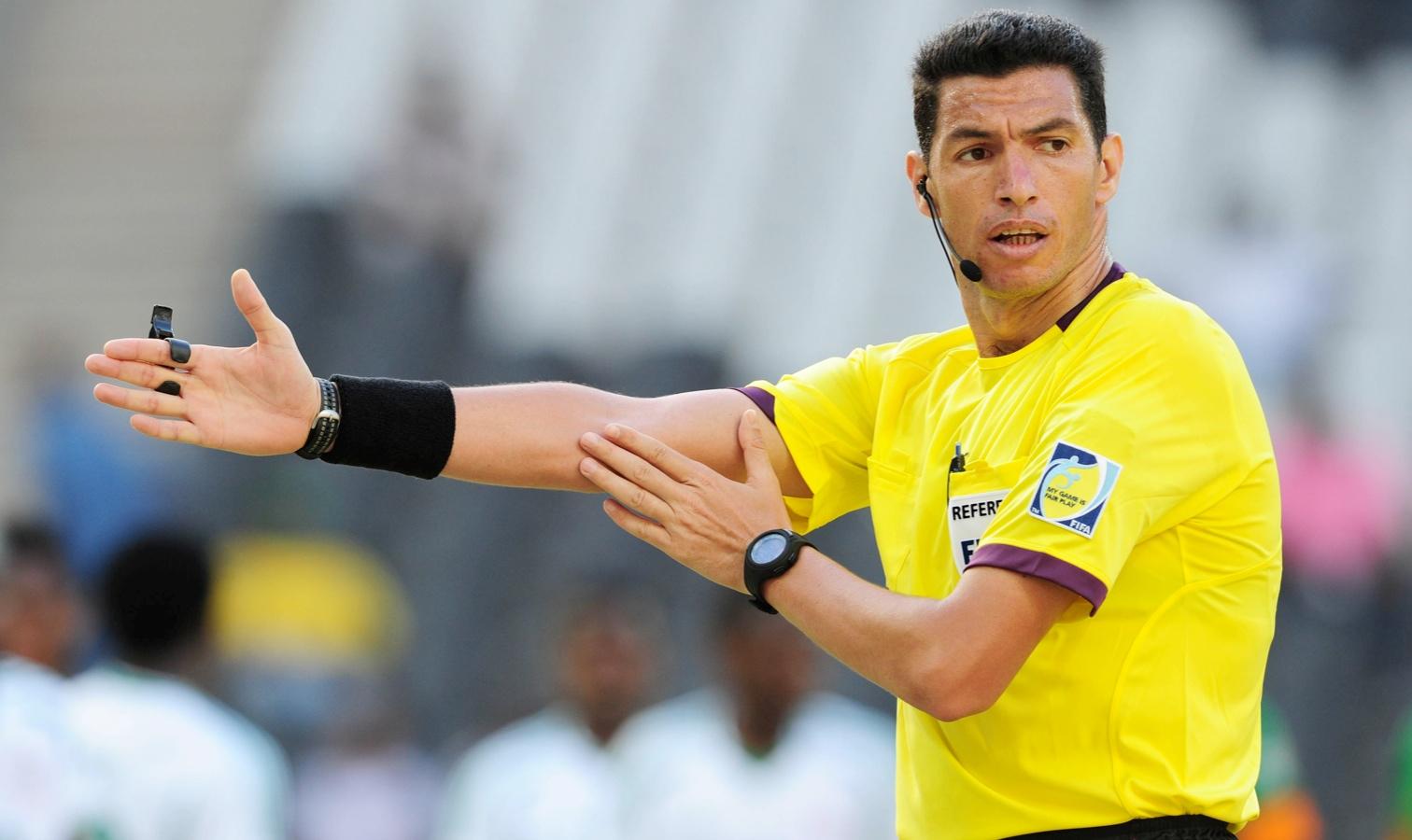 Ghead Grisha arbitre égyptien