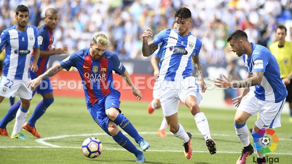 Messi Leganes Medjani