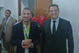 Le retour triomphal de Makhloufi à l'aéroport d'Alger !