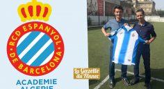 Formation : l'Espanyol Barcelone lance son académie ce jeudi à Alger