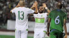 Qualifications CAN 2017 : l'Algérie meilleure attaque, Soudani meilleur buteur !