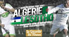 Algérie – Lesotho : Live commentaire et vidéo !
