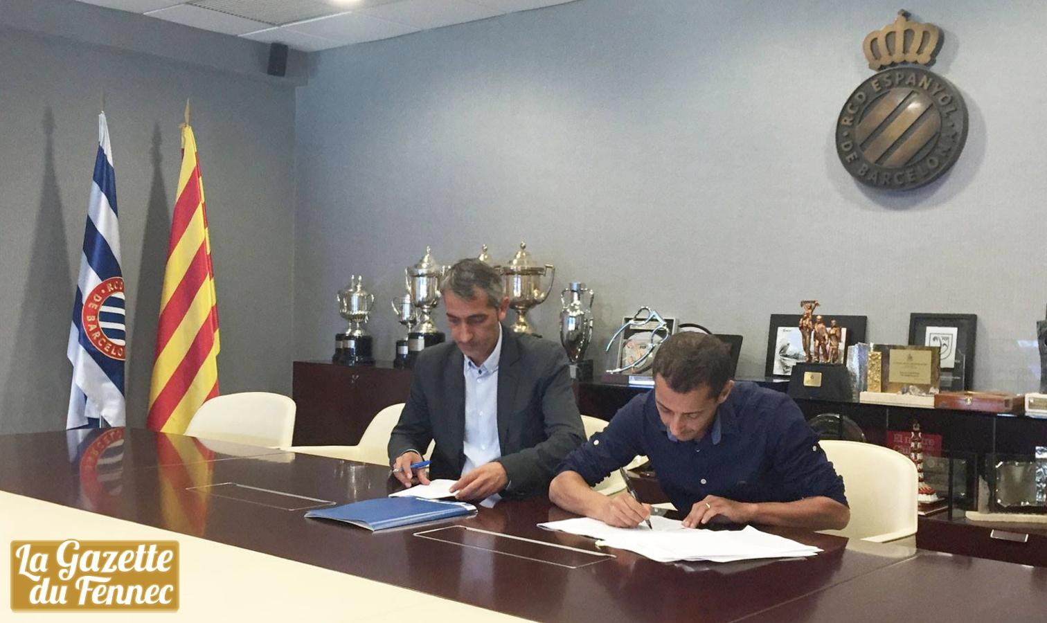 signature academie espanyol barcelone