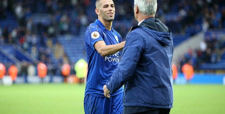 Ranieri : «Slimani souffrait d'une fièvre»