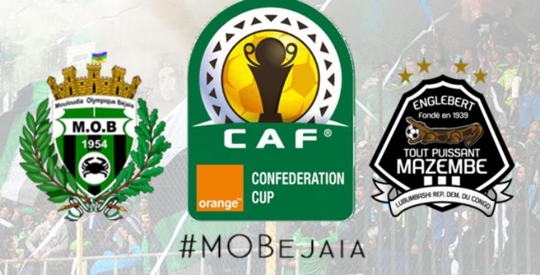 Finale CAF: victoire du TP Mazembe 4-1 face au MO Bejaia !