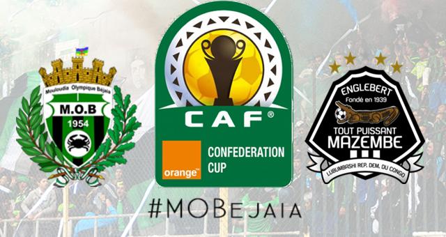 MO Béjaïa – TP Mazembe : Début de la vente des billets ce mercredi