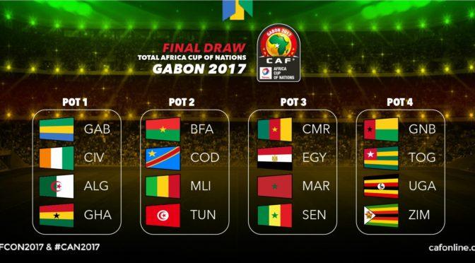 Tirage au sort CAN 2017 : l'Algérie espère un tirage clément